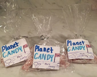3 packs of raspberry hard candy