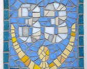 Mosaic House Number, Plaq...