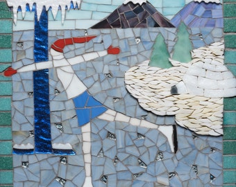Letter I -from My Mosaic Alphabet Book