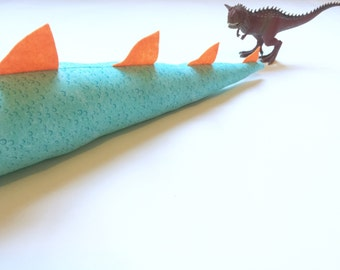 Blue and Orange Dragon/ Dinosaur Tail// Kids Costume// Childrens Dress-Ups// Toddler Costume// Halloween Costume// Party Supplies