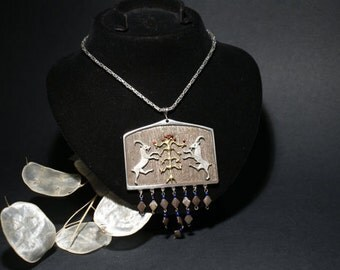Silver Historical Necklace