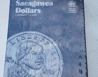Whitman Sacagawea Dollar coin collecting book Starting 2000