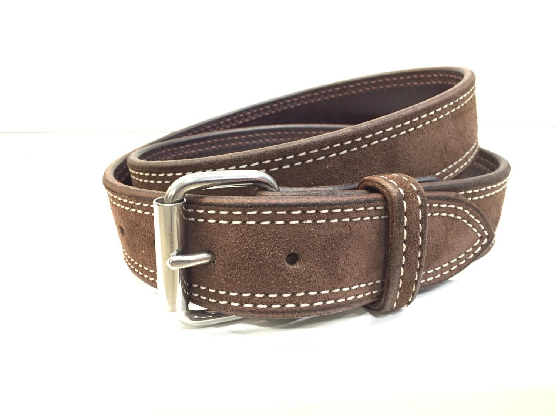 chocolate suede belt brown belt coffee belt suede