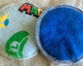 Super Mario reusable and washable nursing pads