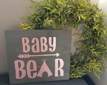 """Nursery """"Baby Bear"""" Sign"""