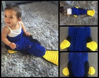 Dory Snugglesack for Baby Crochet Pattern