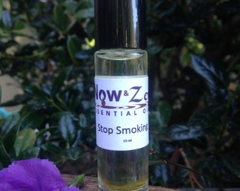 Now and Zen Essential Oil Stop Smoking Roll On