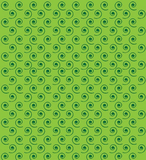 Green Swirl- Quilt Camp Collection