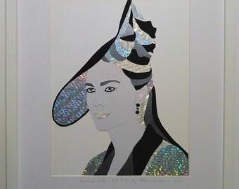 Kate Middleton Princess Kate  Duchess of Cambridge  Queen of England  Royal Portrait Birthday Gift #4