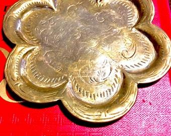 Indian brass plate