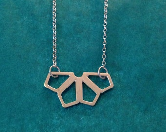 Symmetric Geo Necklace