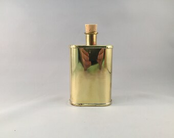 GA Brass Flask