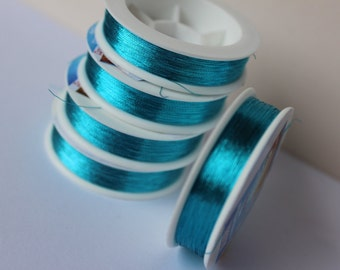 Thread embroidery, thread for ALLURE soutache, polyester sewing thread.