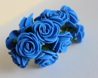 Decorative flowers in LaTeX, blue flowers for hobbies and creativity.