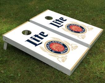 Beer Cornhole Boards Etsy