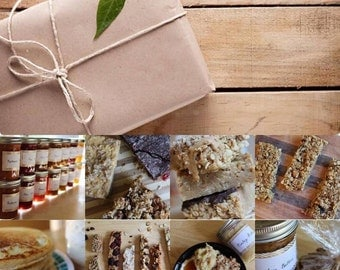 Monthly Subscription Breakfast and Snack Box- Vegan, Gluten Free, Sugar Free, Healthy Gift