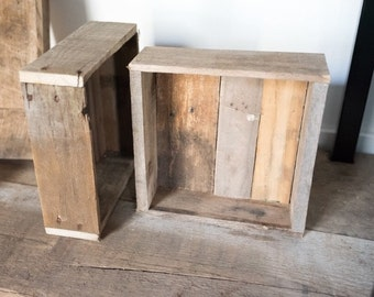 """10"""" x 10"""" Handcrafted Planter Box - Empty"""