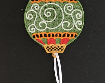 Lace Holiday Ornament