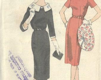 "1960s Vintage VOGUE Sewing Pattern B38"" DRESS (1595)  Vogue 4046"
