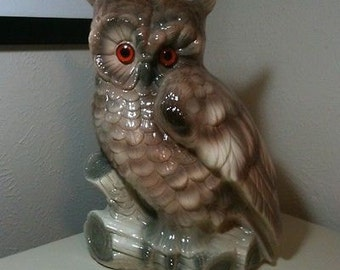 Vintage Atlantic Mold Wise Owl 16""