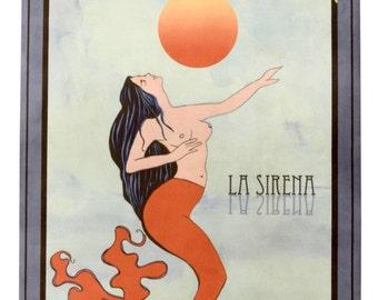 La Sirena-La Loteria Yoga Mat