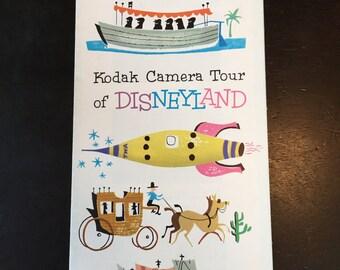 1956 Kodak Camera Tour of Disneyland Brochure