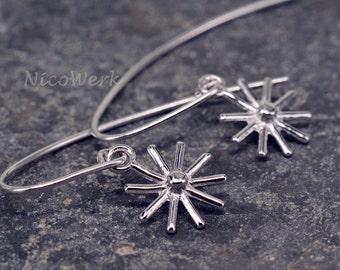 Silver earrings women's earrings jewelry earrings 925 gift SOR144