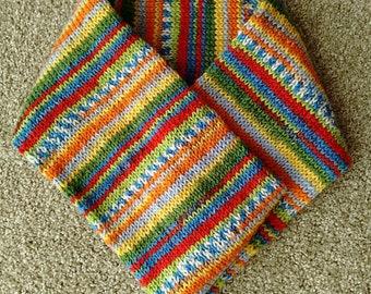 Colourful Tube Cowl