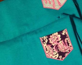 Any Color Custom Pocket Tee