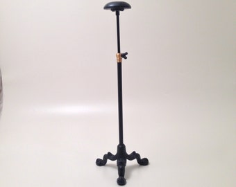 "Hat Stand. Adjustable 13-21""."
