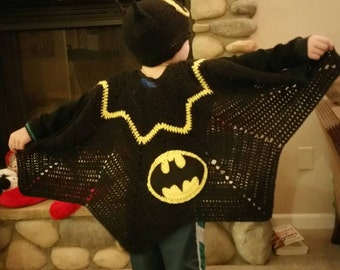 Batman Hat and Cape