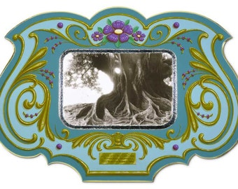 Los Viejos - Poster - Sign painting, fileteado, old tree, flowers