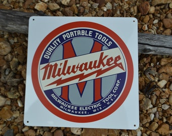 Milwaukee Tools Collectable Sign