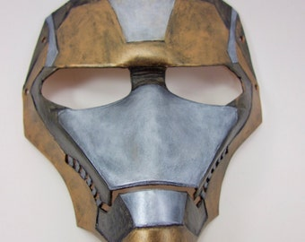 Steel Man Leather Mask