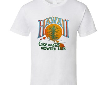 Vintage Surf T-shirt Hawaii Cola Growers Assoc 70s.png