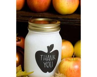 Apple Chalkboard label –  sticker labels,  labels for jars, kitchen labels, kitchen organization, jar labels, chalkboard tags