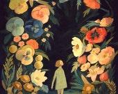 The Night Garden Print 11x14