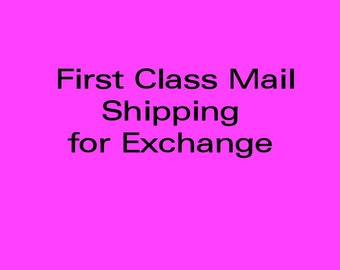 First Class Mail in USA for Exchange