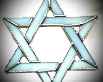 Star of David - Stained Glass