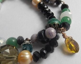 Nature Inspired Beaded Bracelet