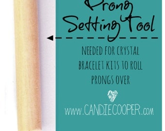 Pushover Prong Tool for Crystal Bracelet kits