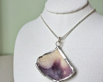 Necklace - Shell pendant 006