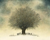 We Are The Ghosts We Think We See - fine art print