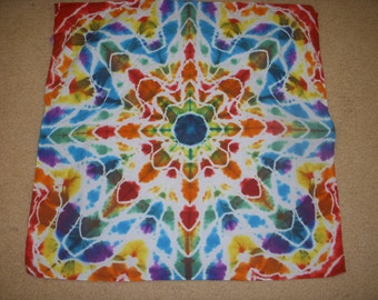 Tie Dye Bandana all colors star