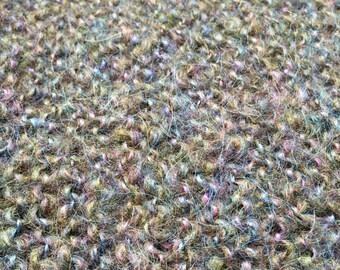 Hand knit mohair wrap