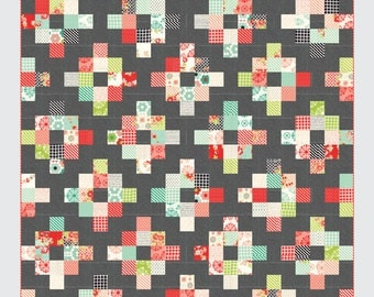 Cakewalk quilt pattern from Thimble Blossoms - layer cake friendly