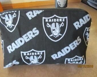 Oakland Raiders Cosmetic Bag