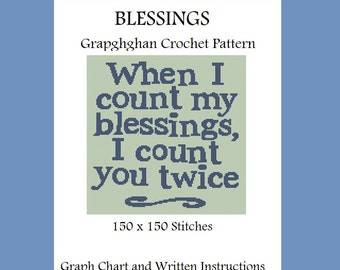 Blessings - Graphghan Crochet Pattern
