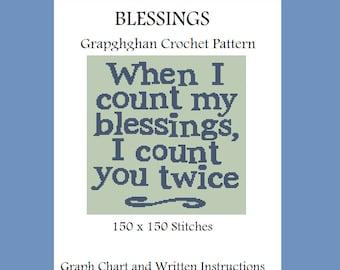 Blessings - Graphghan Crochet Pattern