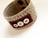 Handcrafted Linen Cuff